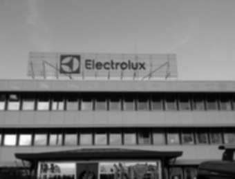 """Aluminum channel letters """"Electrolux"""""""