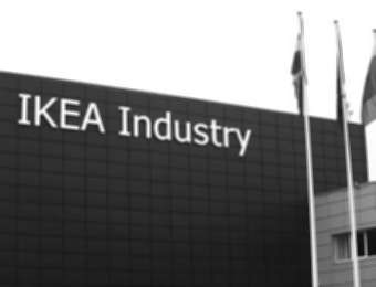"Aluminum channel letters ""IKEA Industry"""