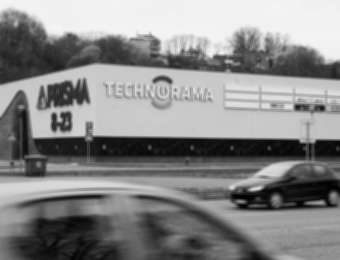 "Aluminum channel letters ""Technorama"""